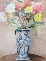 Blue Vase (water colour)