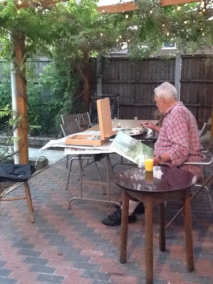 Working on 'Queens Park' 2013